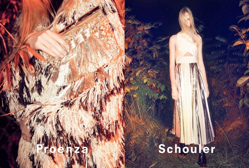 proenza schouler spring 2014 campaign5 David Sims Captures Proenza Schoulers Spring/Summer 2014 Campaign