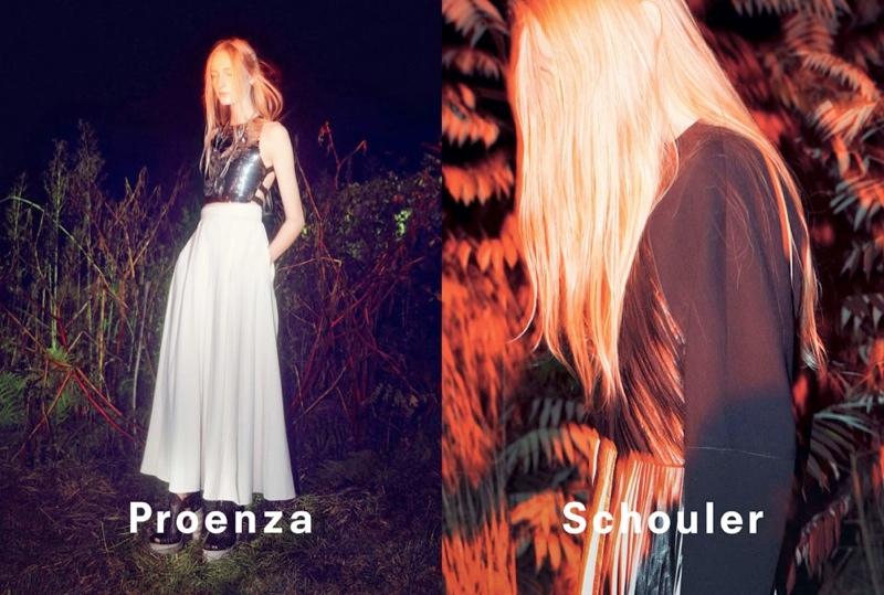 proenza schouler spring 2014 campaign6 David Sims Captures Proenza Schoulers Spring/Summer 2014 Campaign