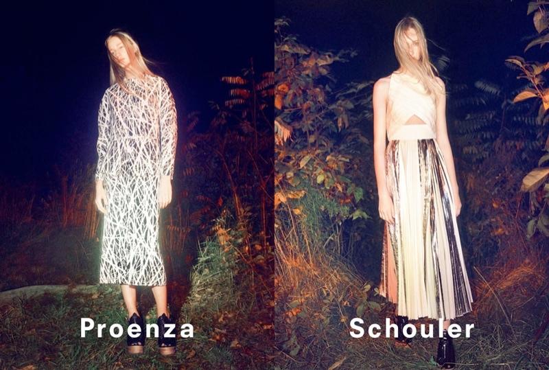 proenza schouler spring 2014 campaign7 David Sims Captures Proenza Schoulers Spring/Summer 2014 Campaign