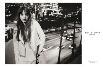 Rag & Bone's Spring Campaign Enlists Stacy Martin