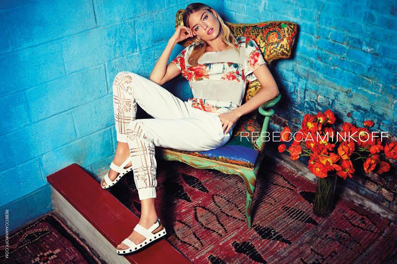 rebecca minkoff spring 2014 campaign3 Martha Hunt Stars in Rebecca Minkoff Spring/Summer 2014 Campaign