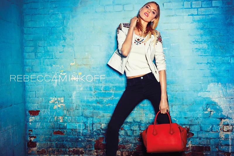rebecca minkoff spring 2014 campaign5 Martha Hunt Stars in Rebecca Minkoff Spring/Summer 2014 Campaign