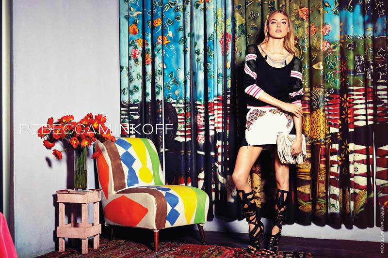 rebecca minkoff spring 2014 campaign7 Martha Hunt Stars in Rebecca Minkoff Spring/Summer 2014 Campaign
