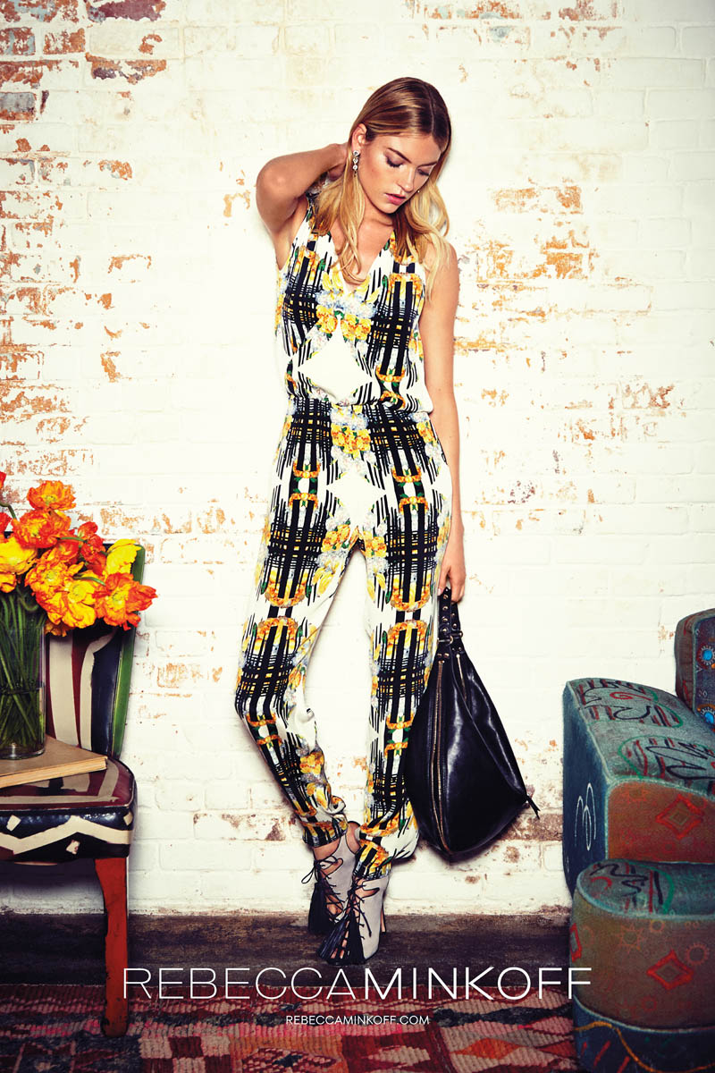 rebecca minkoff spring 2014 campaign8 Martha Hunt Stars in Rebecca Minkoff Spring/Summer 2014 Campaign