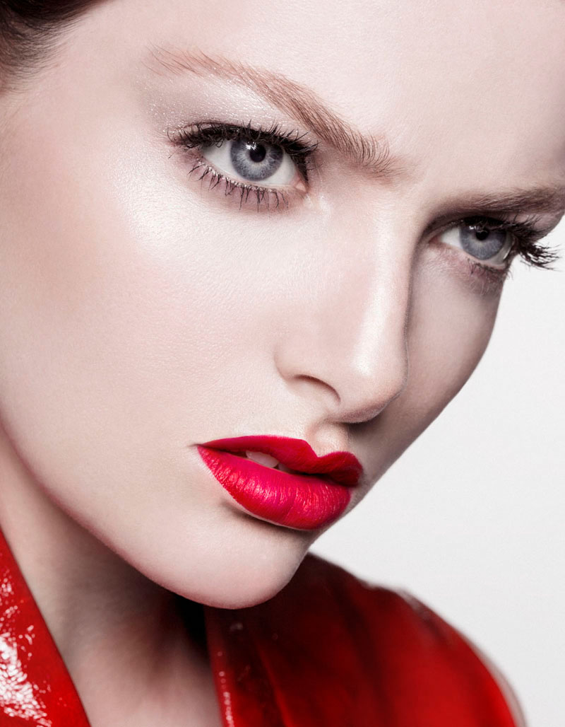red beauty story7 Siobhan OKeefe by Sam Bisso in Infrared for Fashion Gone Rogue