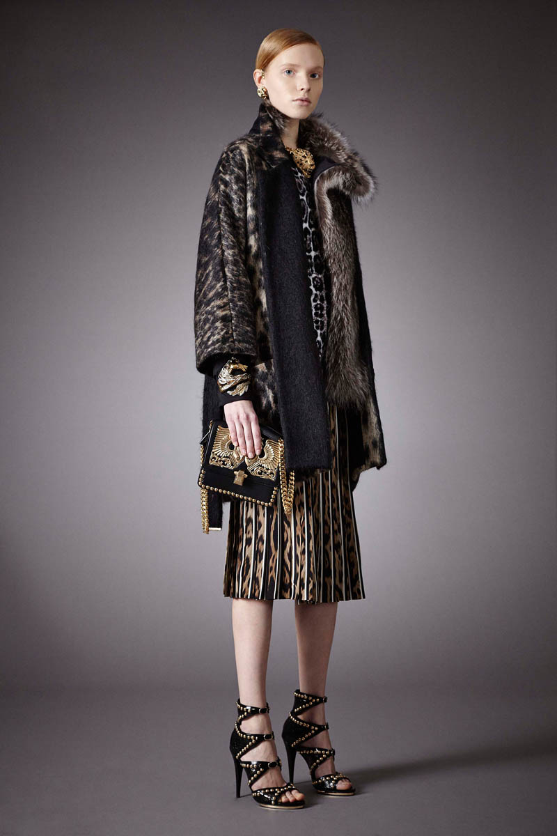 2014 Fall Winter 2015 Fashion Trends For Teensteens: Roberto Cavalli Pre-Fall 2014 Collection