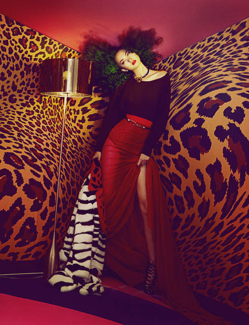 shxpir lofficiel china3 Liu Lijie Goes Wild for LOfficiel China Shoot by Shxpir