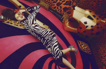 Liu Lijie Goes Wild for L'Officiel China Shoot by Shxpir