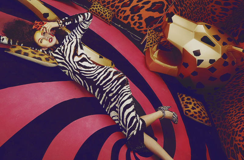 shxpir lofficiel china4 Liu Lijie Goes Wild for LOfficiel China Shoot by Shxpir