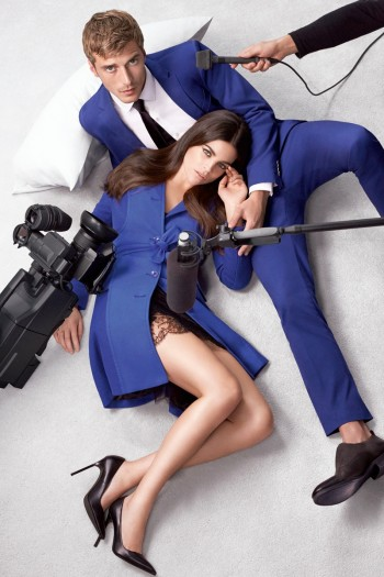Lindsey Wixson + Julia Restoin Roitfeld Front Sisley Spring/Summer 2014 Campaign
