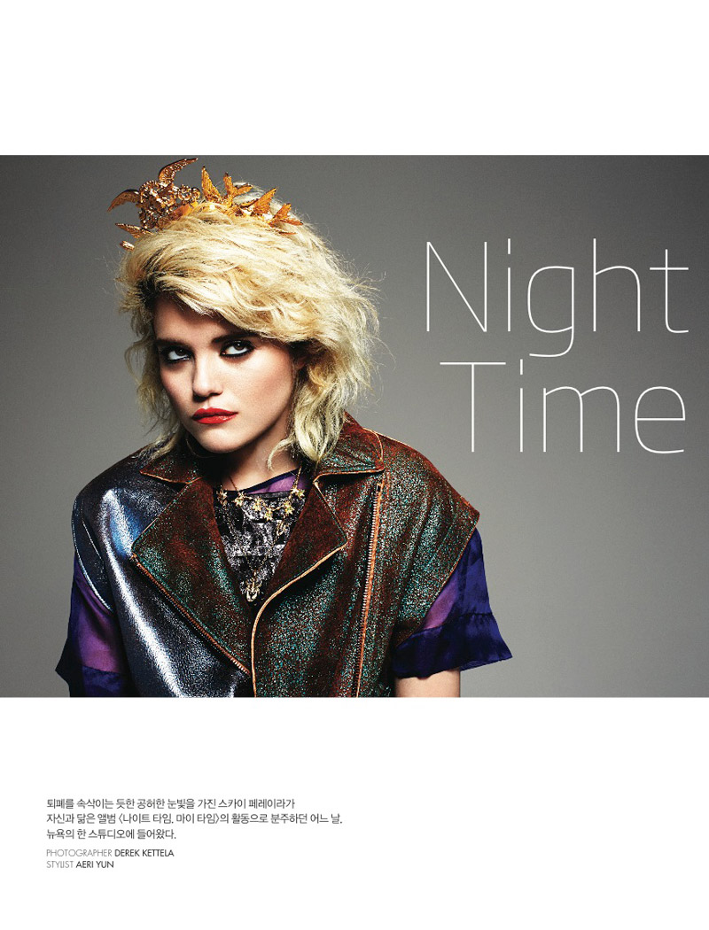 sky ferreira photo shoot1 Sky Ferreira Poses for Dazed & Confused Korea Cover Story