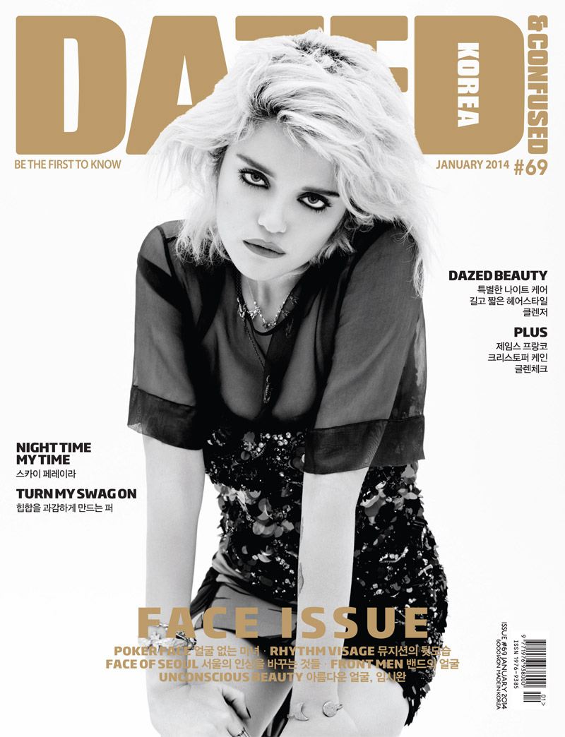 sky ferreira photo shoot10 Sky Ferreira Poses for Dazed & Confused Korea Cover Story