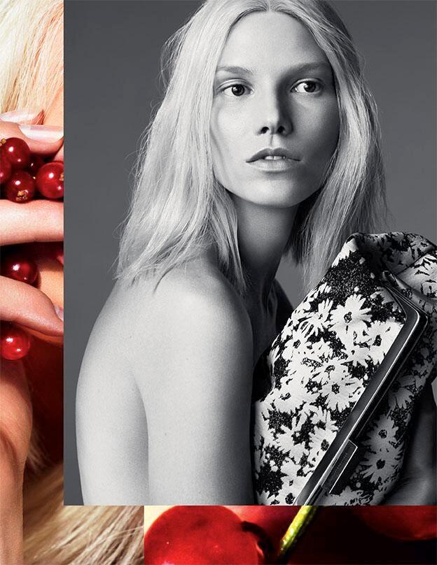 Suvi Koponen Fronts Stella McCartney Spring/Summer 2014 Campaign