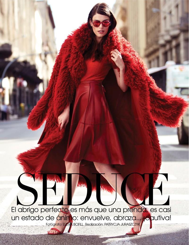 Djamila Del Pino Hits the Streets for Vogue Mexico by Elena Bofill