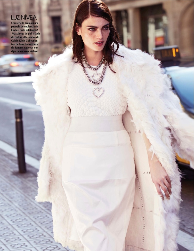 street style shoot3 Djamila Del Pino Hits the Streets for Vogue Mexico by Elena Bofill