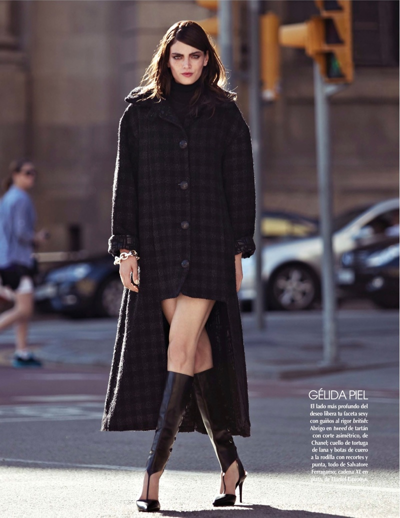 street style shoot5 Djamila Del Pino Hits the Streets for Vogue Mexico by Elena Bofill