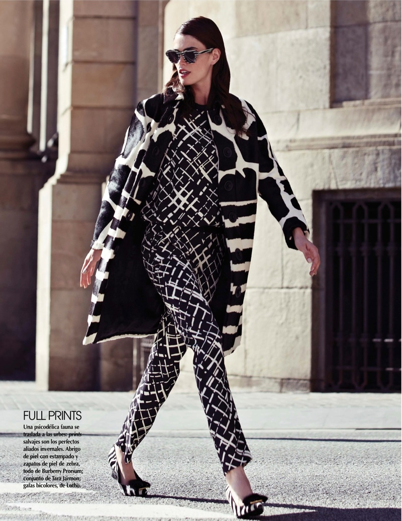 street style shoot7 Djamila Del Pino Hits the Streets for Vogue Mexico by Elena Bofill