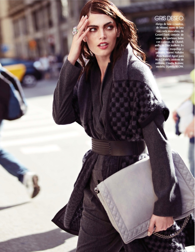 street style shoot8 Djamila Del Pino Hits the Streets for Vogue Mexico by Elena Bofill
