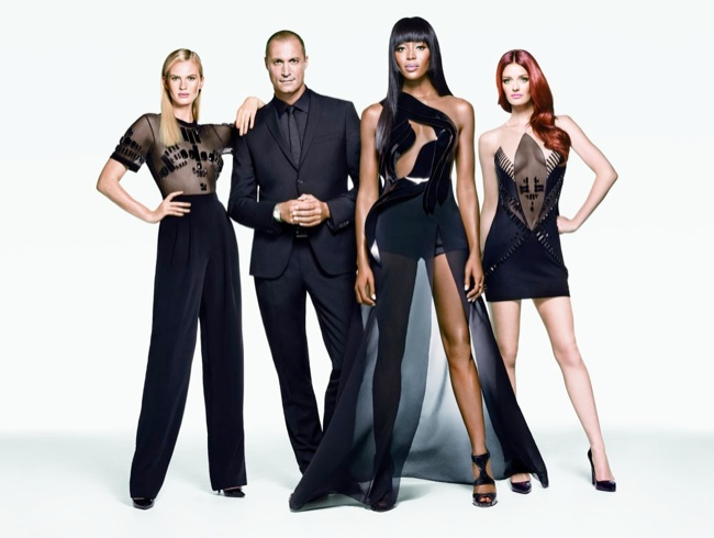 Anne V, Nigel Barker, Naomi Campbell and Lydia Hearst / Credit: Oxygen/The Face