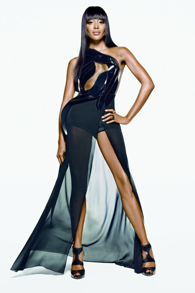 Watch: Naomi Campbell Gives Best No Comment on Kimye's Vogue Cover