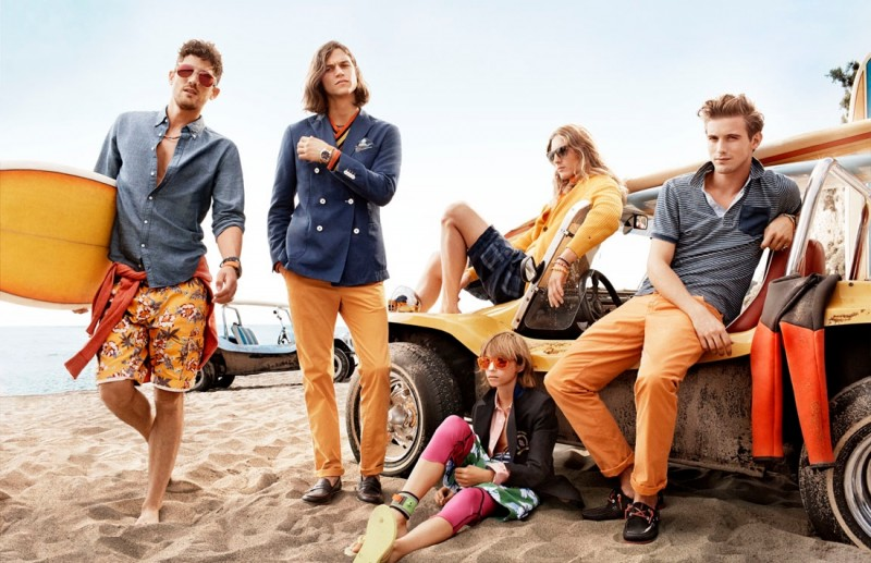 tommy hilfiger spring 2014 campaign3 800x517 Toni Garrn, Jac Jagaciak, Tian Yi + More for Tommy Hilfiger Spring/Summer 2014 Campaign