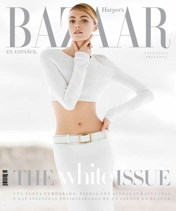 valentina zelyaeva model1 Valentina Zelyaeva Poses for Hans Neumann in Harpers Bazaar Latin America