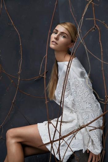 Valentina Zelyaeva Poses for Hans Neumann in Harper's Bazaar Latin America