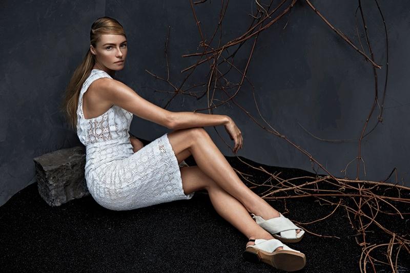 valentina zelyaeva model9 Valentina Zelyaeva Poses for Hans Neumann in Harpers Bazaar Latin America
