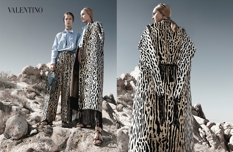 valentino spring summer 2014 ad1 Valentino Spring/Summer 2014 Campaign by Craig McDean