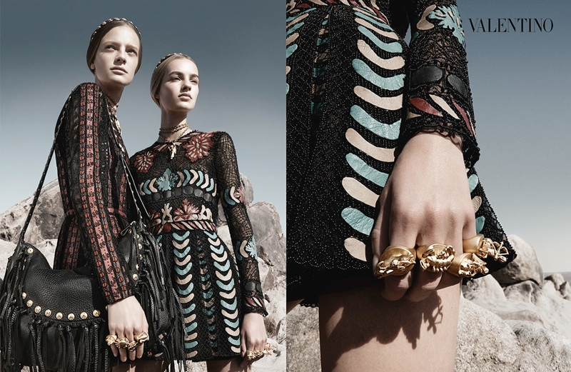 valentino spring summer 2014 ad2 Valentino Spring/Summer 2014 Campaign by Craig McDean