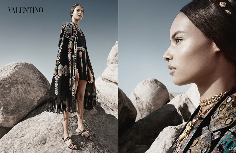 valentino spring summer 2014 ad3 Valentino Spring/Summer 2014 Campaign by Craig McDean