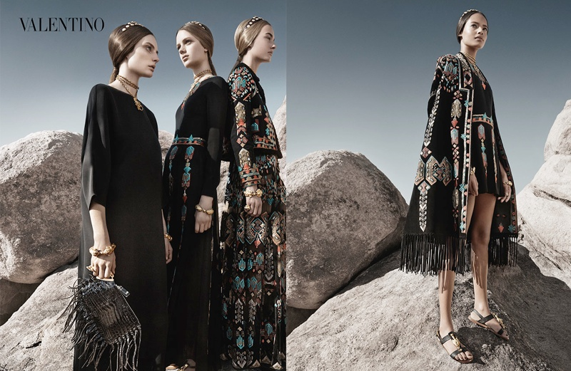 valentino spring summer 2014 ad4 Valentino Spring/Summer 2014 Campaign by Craig McDean