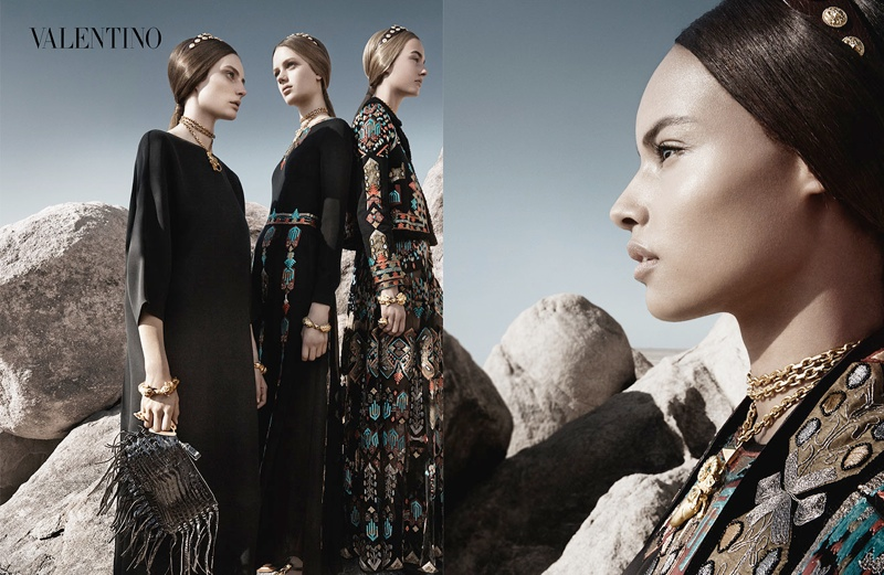 valentino spring summer 2014 ad5 Valentino Spring/Summer 2014 Campaign by Craig McDean