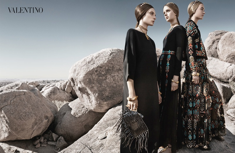valentino spring summer 2014 ad6 Valentino Spring/Summer 2014 Campaign by Craig McDean