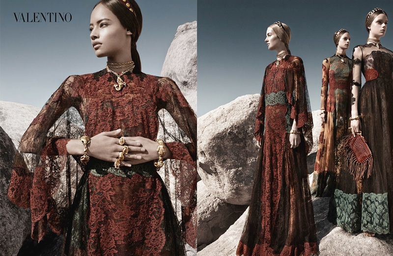 valentino spring summer 2014 ad7 Valentino Spring/Summer 2014 Campaign by Craig McDean