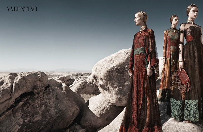 valentino spring summer 2014 ad8 Valentino Spring/Summer 2014 Campaign by Craig McDean