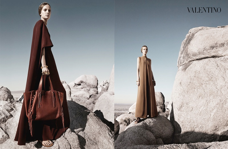 valentino spring summer 2014 ad9 Valentino Spring/Summer 2014 Campaign by Craig McDean