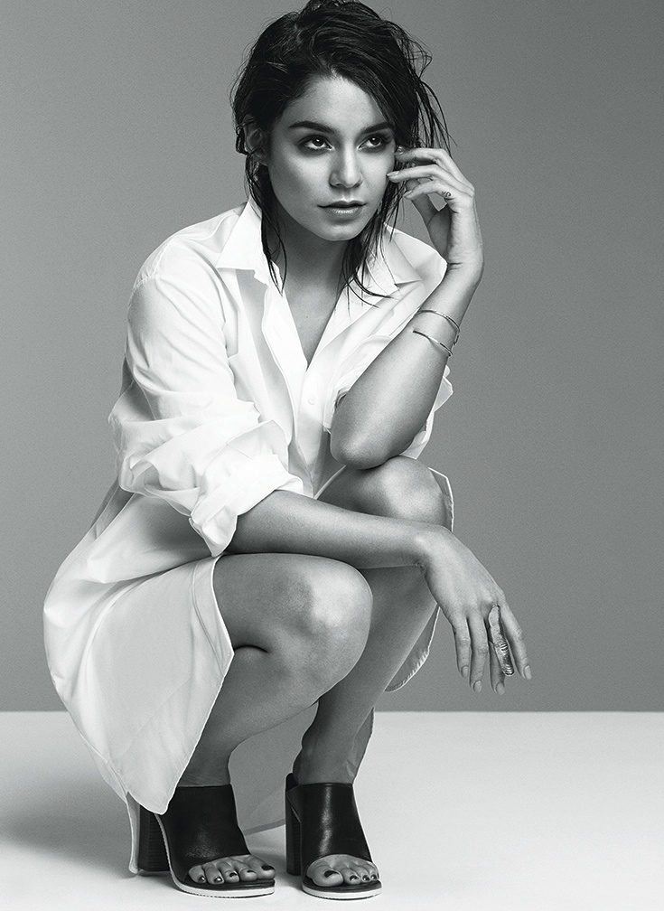 Vanessa Hudgens Stars in Flare's February 2014 Cover Shoot