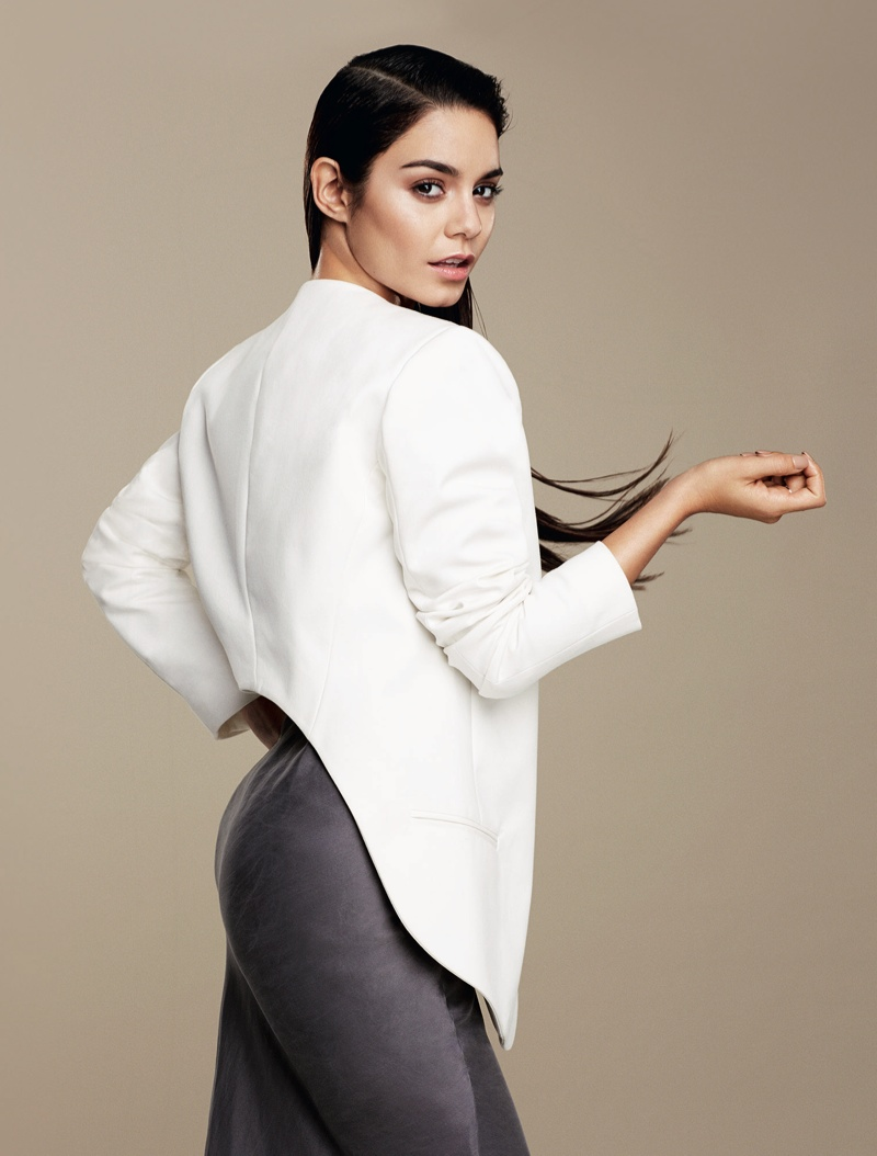 vanessa hudgens flare4 Vanessa Hudgens Stars in Flares February 2014 Cover Shoot