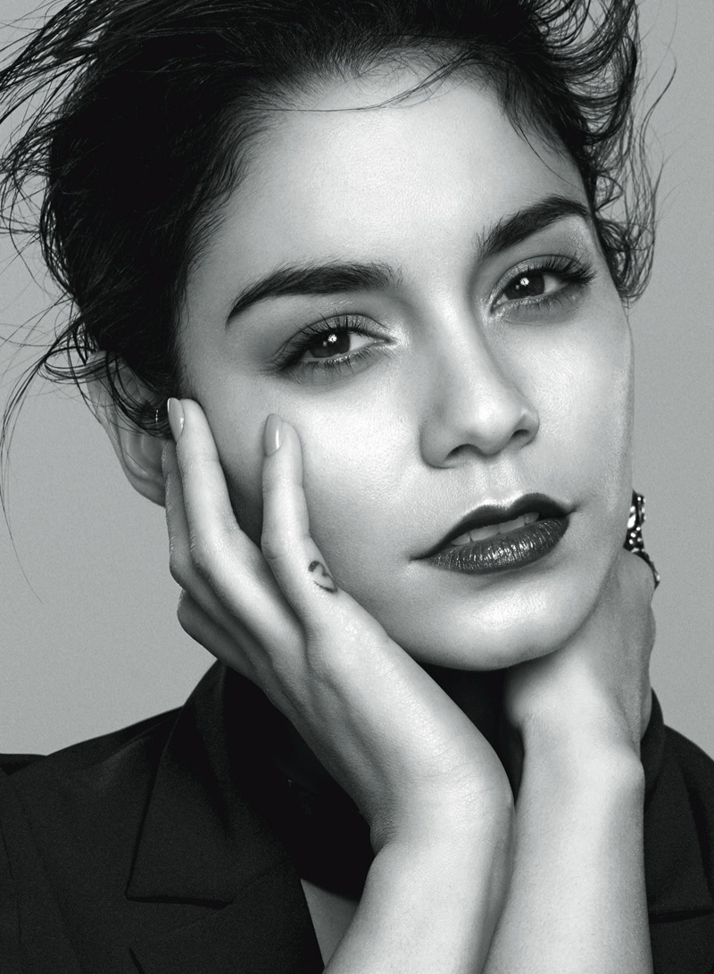 vanessa hudgens flare6 Vanessa Hudgens Stars in Flares February 2014 Cover Shoot