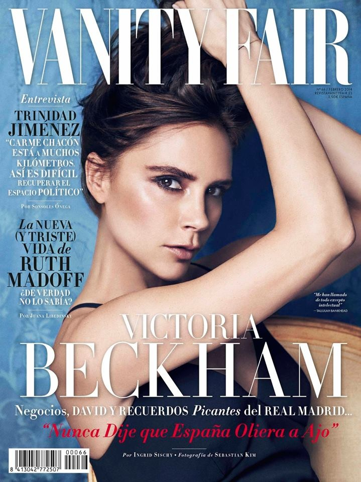 Victoria Beckham on Vanity Fair Spain February 2014 Cover / Photo by Sebastian Kim