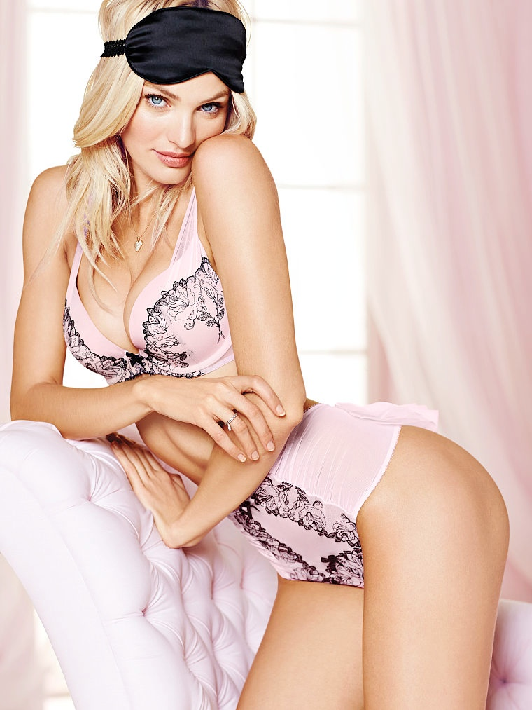 Adriana Lima, Karlie Kloss, Candice Swanepoel for Victoria's Secret Valentine's Day