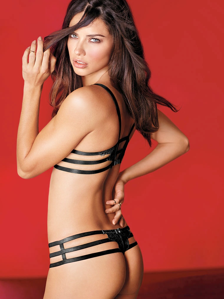victorias secret valentines day18 Adriana Lima, Karlie Kloss, Candice Swanepoel for Victorias Secret Valentines Day