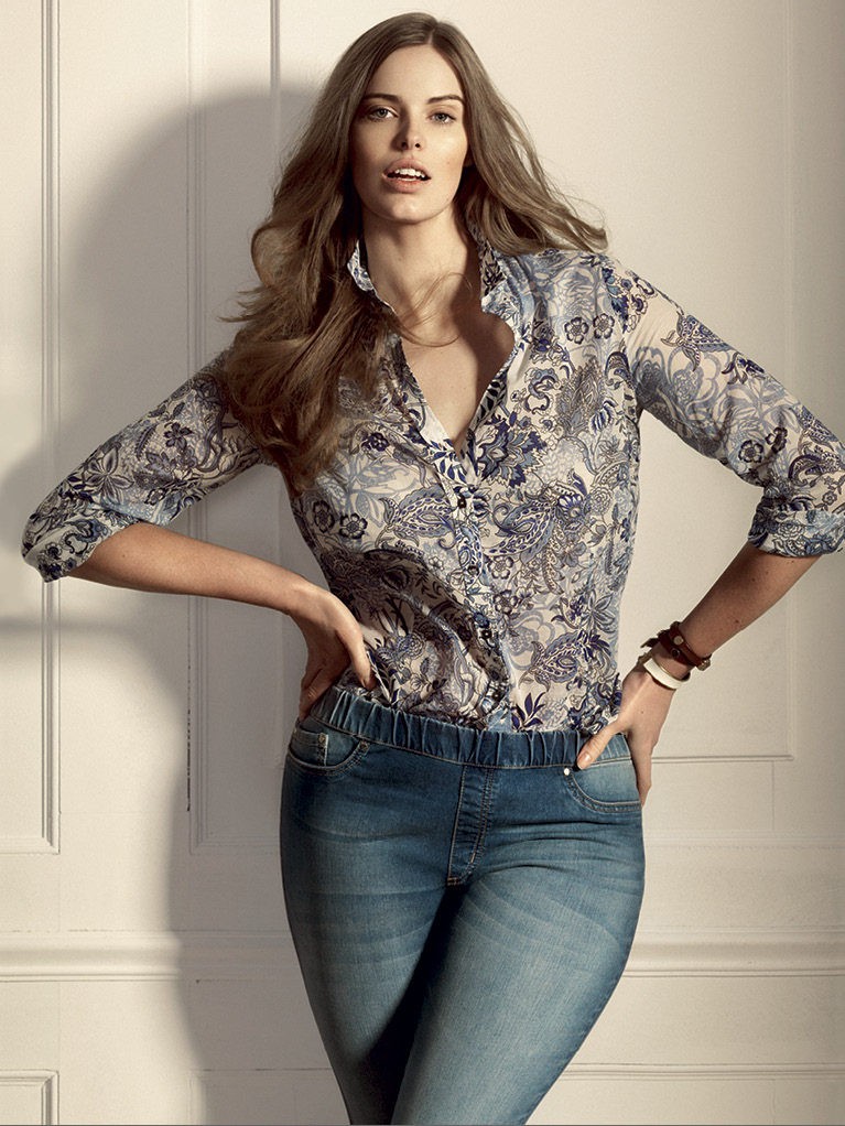 violeta mango robyn lawley6 Robyn Lawley Fronts Violeta by Mango Catalogue
