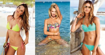 2014 Victoria's Secret Swim Catalog with Candice, Alessandra, Behati + More!