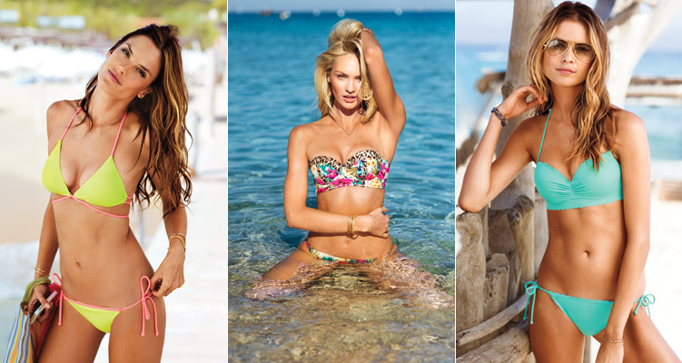 vs swim catalog 2014 Victorias Secret Swim Catalog with Candice, Alessandra, Behati + More!