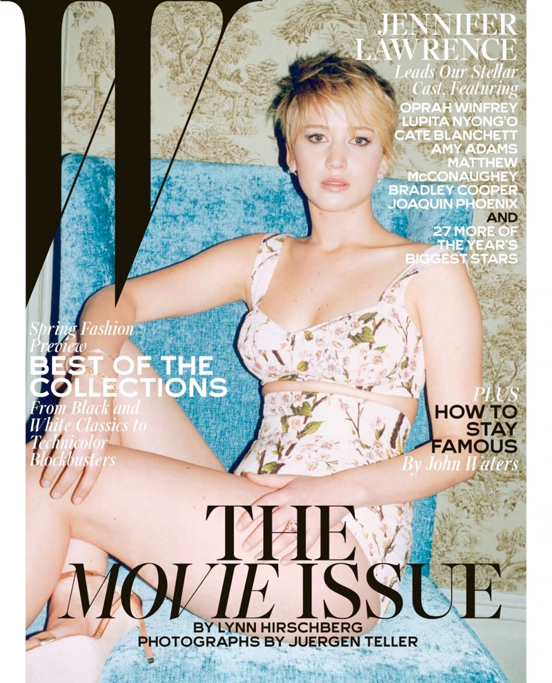 w movie issue12 Jennifer Lawrence, Cate Blanchett + More Stars Cover W Mags Movie Issue