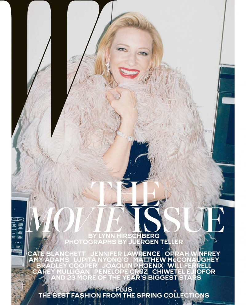 w movie issue9 Jennifer Lawrence, Cate Blanchett + More Stars Cover W Mags Movie Issue