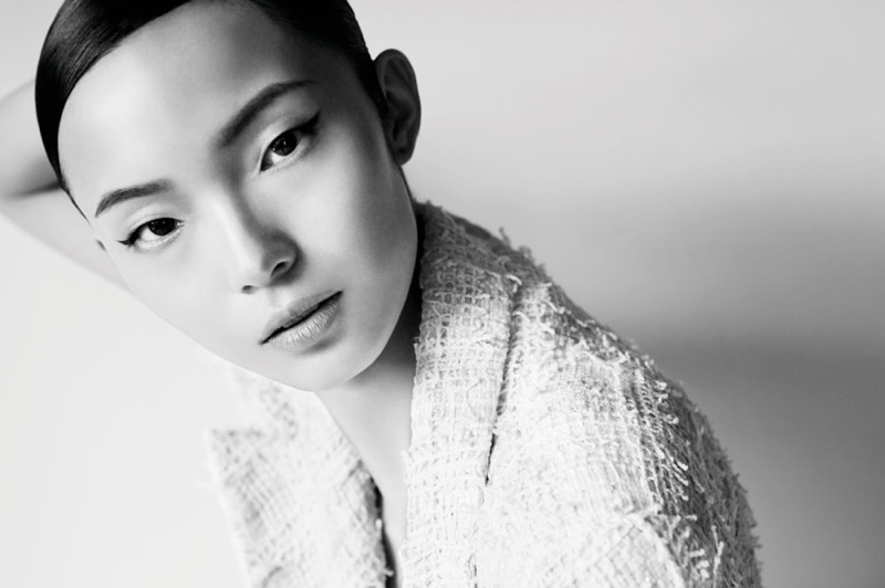 Xiao Wen Ju Poses for Wee Khim in Nuyou Singapore January 2014