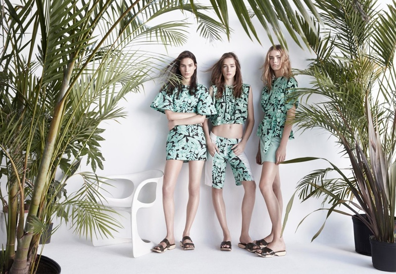 Patrick Demarchelier Shoots Zara Spring/Summer 2014 Campaign